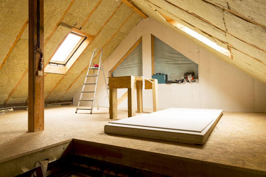 Isolation d'une toiture avec prime région wallonne