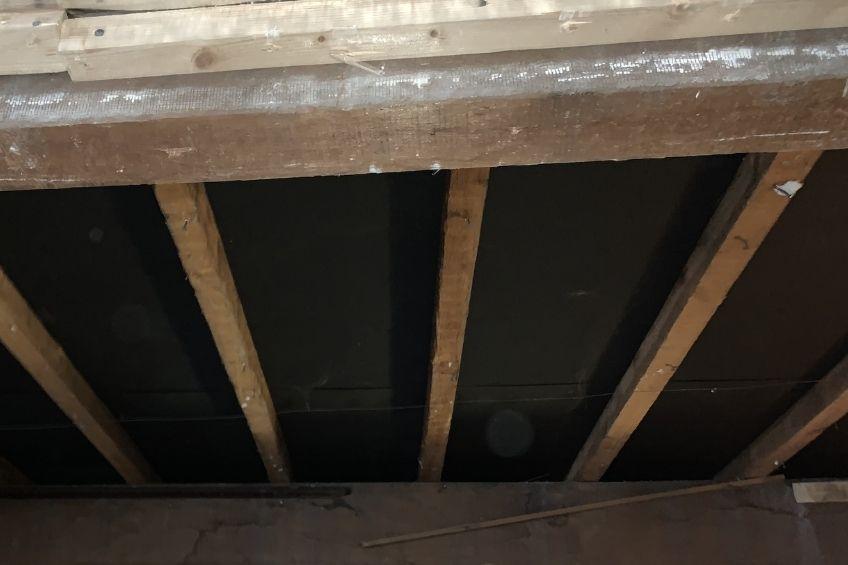 sous-toiture sans isolation