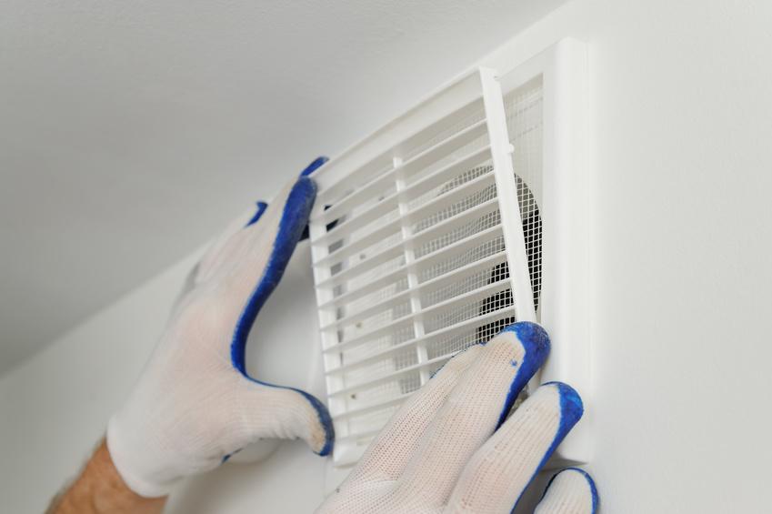 Installer une grille de ventilation